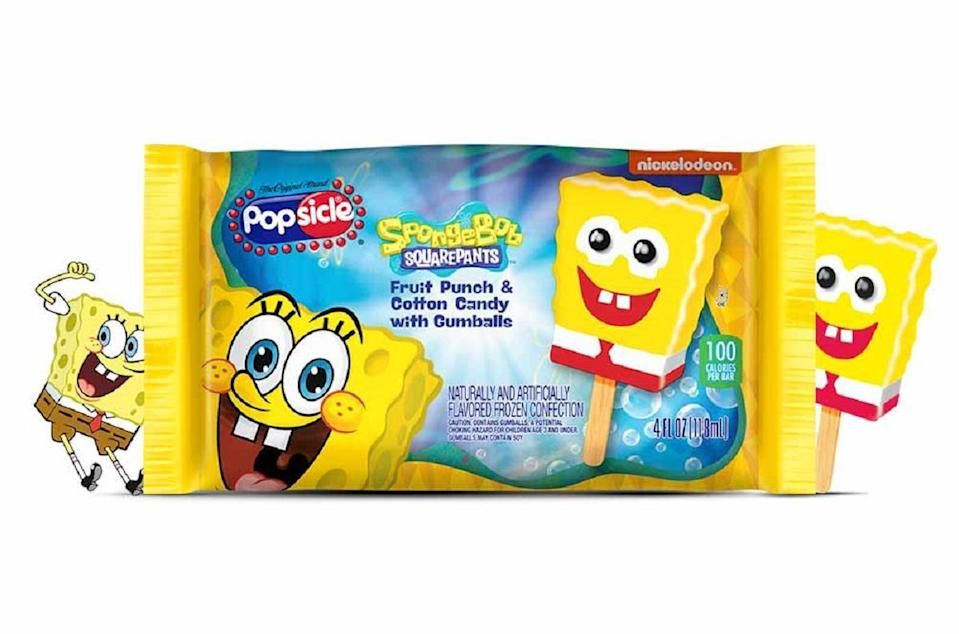 <p>New Yorkers like to do things their own way, which is likely why it's the only state whose favorite ice-cream-truck treat is the Spongebob Ice Cream Pop. Shaped like our friend from under the sea, Spongebob Squarepants will surely be making an appearance in The Empire State this summer.</p>