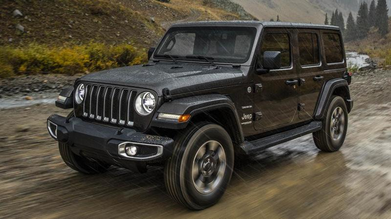 18,000 Jeep Wranglers Recalled For Suspension Problem