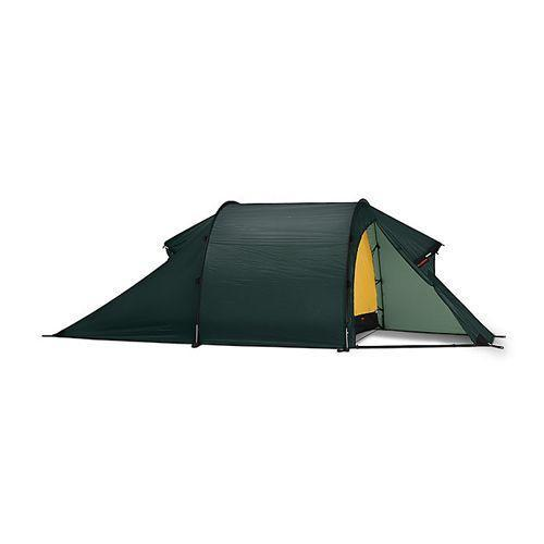 """<p><strong>Hilleberg</strong></p><p><strong>$810.00</strong></p><p><a href=""""https://www.campsaver.com/hilleberg-nammatj-2-tent-2-person-4-season.html"""" rel=""""nofollow noopener"""" target=""""_blank"""" data-ylk=""""slk:Shop Now"""" class=""""link rapid-noclick-resp"""">Shop Now</a></p><p>Hilleberg's shelters are a staple among winter campers and mountaineers, and the Nammatj is one of their most popular. </p><p>The Nammatj features thick, 10-millimeter poles that create a low-profile tunnel design that shrugs off high winds with ease and prevents snow loading. The double-wall nylon body is treated with silicone, making it much more durable than most backpacking tents. And the rainfly and vestibule extend all the way to the ground, making it nearly impossible for snow to creep its way inside. </p><p>Weighing just 6 pounds, 8 ounces, this tent packs a ton of punch in a lightweight package. It's one of the few tents in this review that is genuinely comfortable in sub-zero, polar conditions yet is still light enough for one person to reasonably carry for long backpacking trips. </p><p>Though 31 square feet of floor space is on the lower end, the high ceilings, nearly vertical walls, and oversized vestibule make this tent feel much larger and more livable than many.</p>"""