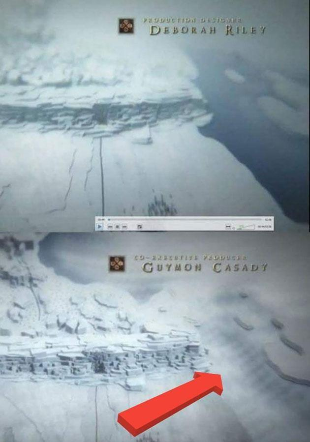 One eagle-eyed Redditor pointed out a huge problem at the Wall. Source: Reddit/HBO