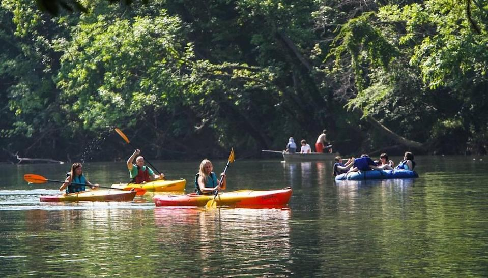 Rolln' on the River was held at Saluda Shoals Park.