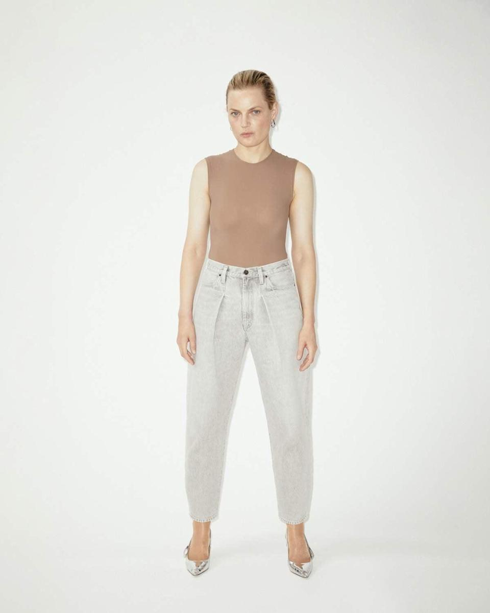 <p><span>Goldsign The Pleat Curve Jean in Wylam</span> ($290)</p>