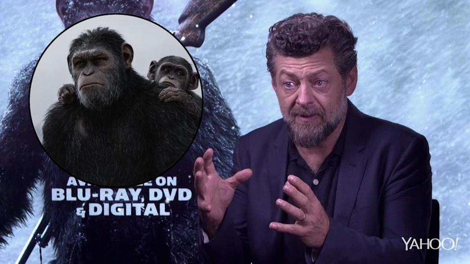 Andy Serkis talks us through the making of the new <i>Planet of the Apes</i> reboot trilogy. (20th Century Fox)