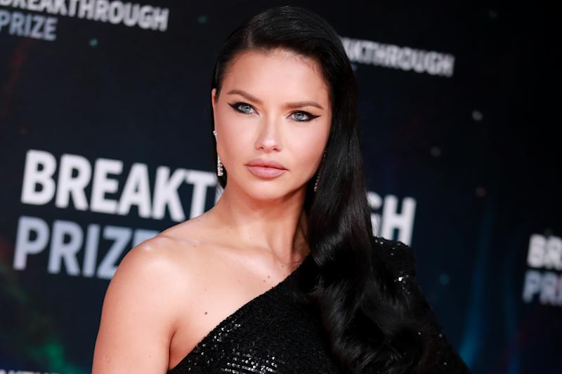 MOUNTAIN VIEW, CALIFORNIA - NOVEMBER 03: Adriana Lima attends the 8th Annual Breakthrough Prize Ceremony at NASA Ames Research Center on November 03, 2019 in Mountain View, California. (Photo by Rich Fury/Getty Images)