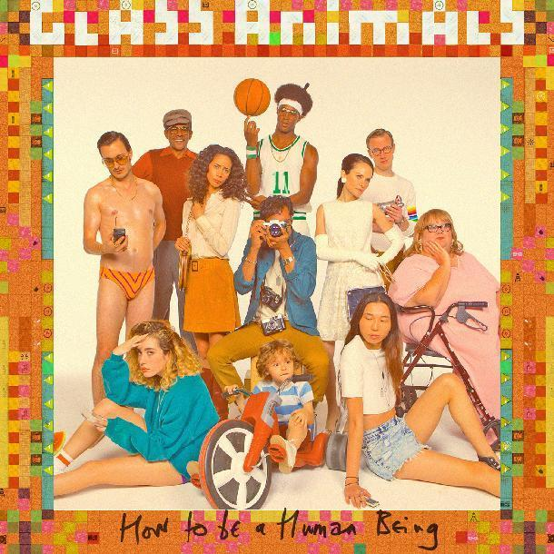 "This CD cover image released by Wolf Tone shows ""How to Be a Human Being,"" by Glass Animals. (Wolf Tone via AP)"