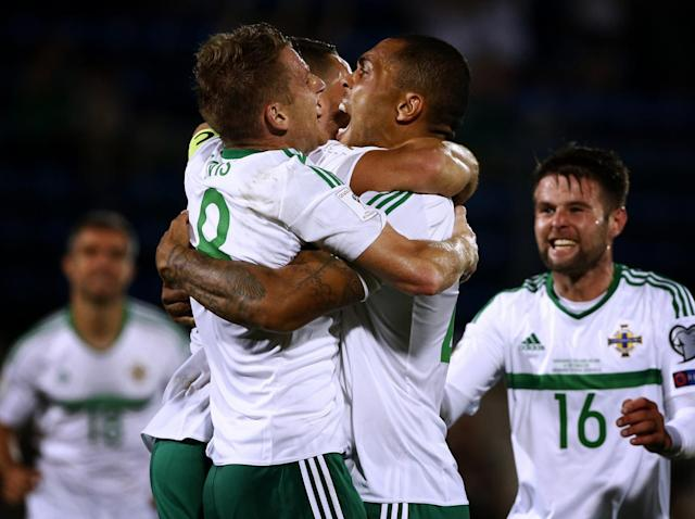Northern Ireland beat Azerbaijan and the Czech Republic to a playoff place (Getty)