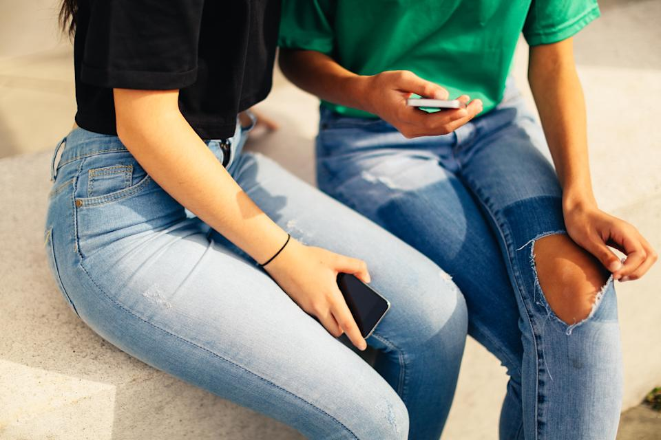A school's response to ripped jeans has a student's mother upset. (Photo: Getty Images)