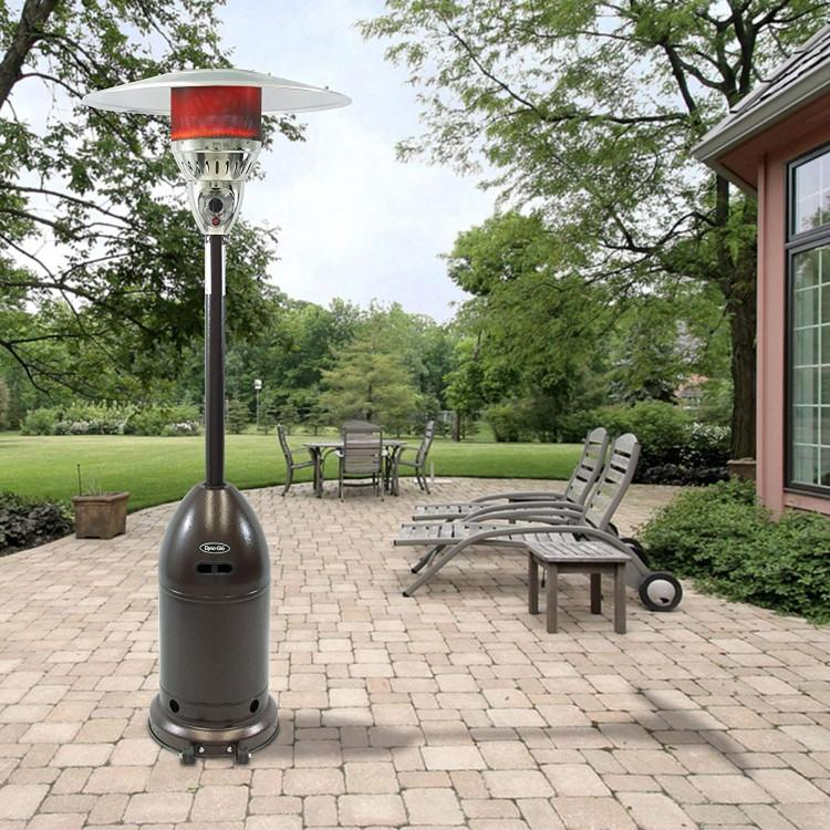 Dyna-Glo DGPH201BR 48000 BTU Premium Hammered Bronze Patio Heater. (Photo: Amazon)