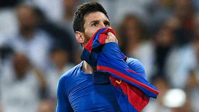 Some saw Lionel Messi's Clasico celebration as a sign he is set for a new contract and Luis Enrique hopes he ends his career at Camp Nou.