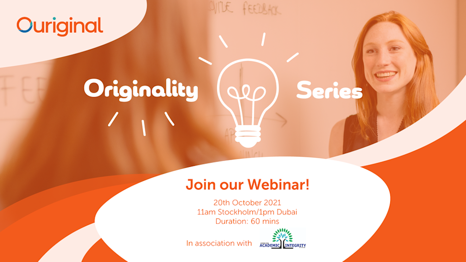 Ouriginal webinar on mental health: How can students and teachers stay sane in times of the new normal