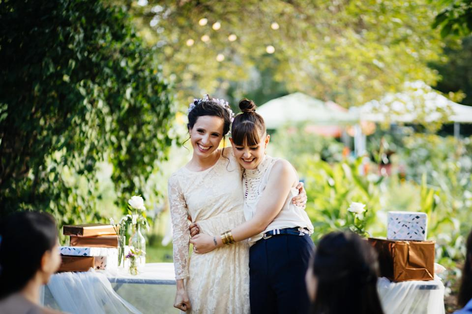 """""""Make talking about money and talking about your life goals the number one thing,"""" said Jake Northup, chartered financial analyst and certified financial planner, when asked about his best financial advice for newlyweds. (Photo: Getty)"""