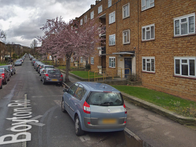 A man was fatally stabbed at Shelley House on Boyton Road in Haringey on Monday evening: Google Maps