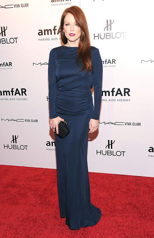 "<p class=""MsoNoSpacing"">At 51, Julianne Moore looks more like she's in her 30s. What's her secret? The Oscar-nominated actress claims sunscreen – and lots of it – is the key to her youthful complexion. She also shuns plastic surgery, even injectables. ""I don't believe it makes people look better,"" the mom of two has told <em>Allure</em>. ""I think it just makes them look like they had something done to their face, and I don't think we find that instinctually appealing.""</p>"
