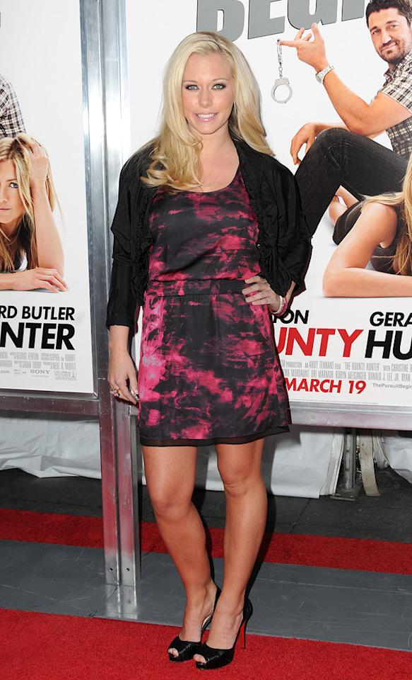 """<a href=""""http://movies.yahoo.com/movie/contributor/1809678146"""">Kendra Wilkinson</a> at the New York City premiere of <a href=""""http://movies.yahoo.com/movie/1810129411/info"""">The Bounty Hunter</a> - 03/16/2010"""