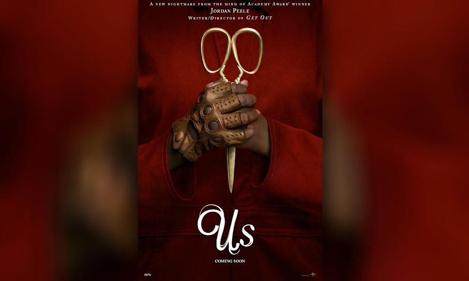 <p>Jordan Peele directs Lupita Nyong'o and Winston Duke in this new horror about a couple who take their kids on a weekend away with friends only for unexpected arrivals to cause trouble. </p>