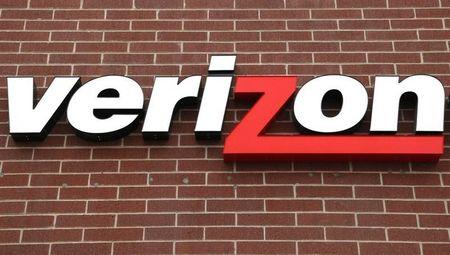 A sign of Verizon Wireless is seen at its store in Westminster, Colorado April 26, 2009. REUTERS/Rick Wilking