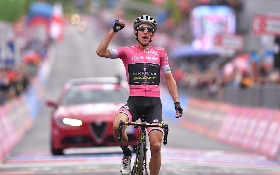 Simon Yates has some unfinished business at the Giro d'Italia having grabbed the maglia rosa, only to fall away in the final three days to lose tor Chris Froome - GETTY IMAGES