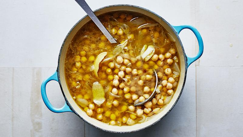 Another good thing to prep: chickpeas.
