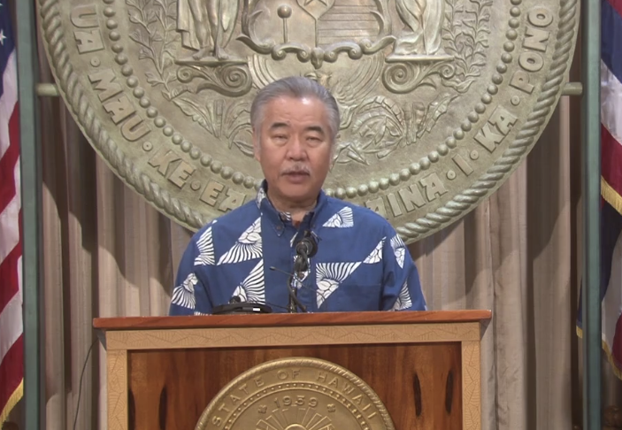 Governor David Ige is open to welcoming Australians to Hawaii. Source: Governor David Ige/ Facebook