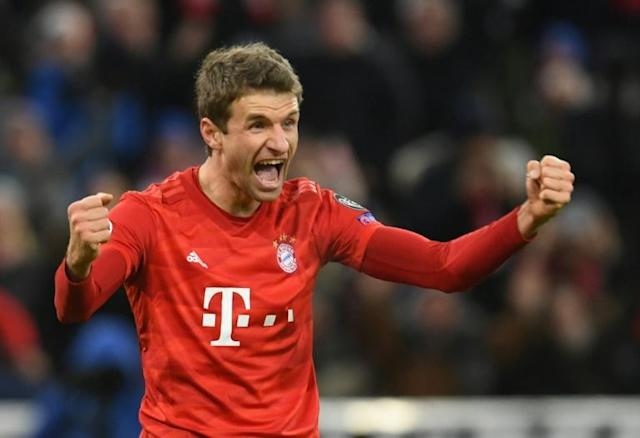 Thomas Mueller has fought his way back into the Bayern side this season (AFP Photo/Christof STACHE )