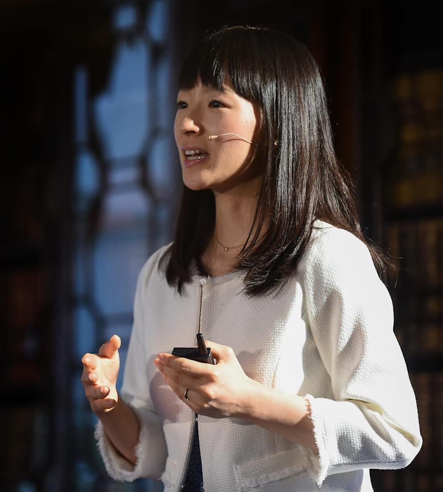 "Join tidiness guru, Marie Kondo as she visits various people and helps them learn how to de-clutter their lives and space. Marie Kondo makes for an amazing instructor who focuses on ""sparking joy"" whilst cleaning to enhance personal energy and relationships!"