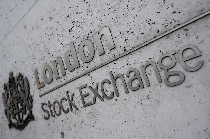 FILE PHOTO: The London Stock Exchange offices in the City of London, Britain