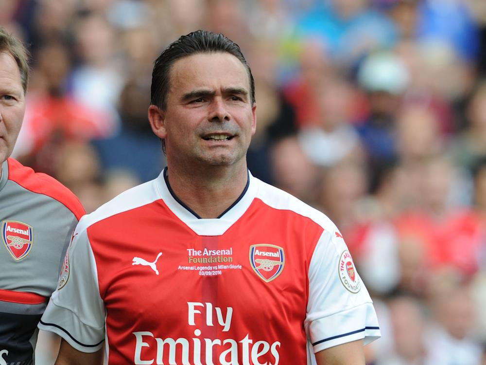 Overmars played for Arsenal between 1997 and 2000: Getty