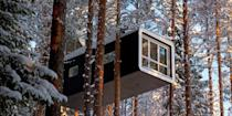 <p>If a regular hotel room just doesn't cut it for you and you're looking to try something a little different, consider a stay in one of these offbeat hotels. Some are made of ice, while others are in historic caves or decommissioned planes. You can bet a stay in one of these unusual places will definitely be out of the ordinary! Here are the craziest places to stay in the world.</p>