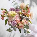 """<p>Pink and lilac roses symbolise happiness, which makes this bouquet the sweetest love note of all.</p><p><a class=""""link rapid-noclick-resp"""" href=""""https://go.redirectingat.com?id=127X1599956&url=https%3A%2F%2Fwww.bloomandwild.com%2Fsend-flowers%2Fsend%2Fthe-vivienne%2F3374&sref=https%3A%2F%2Fwww.housebeautiful.com%2Fuk%2Flifestyle%2Fshopping%2Fg35318824%2Fbloom-wild-valentines-day-red-roses%2F"""" rel=""""nofollow noopener"""" target=""""_blank"""" data-ylk=""""slk:BUY NOW"""">BUY NOW</a></p>"""