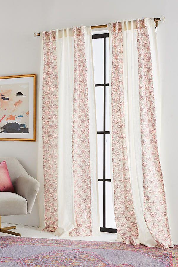 "<a href=""https://www.anthropologie.com/shop/charley-curtain?category=new-home&color=066"" target=""_blank"">Get them here</a> from Anthropologie."