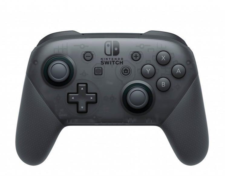 The Nintendo Switch Pro controller.