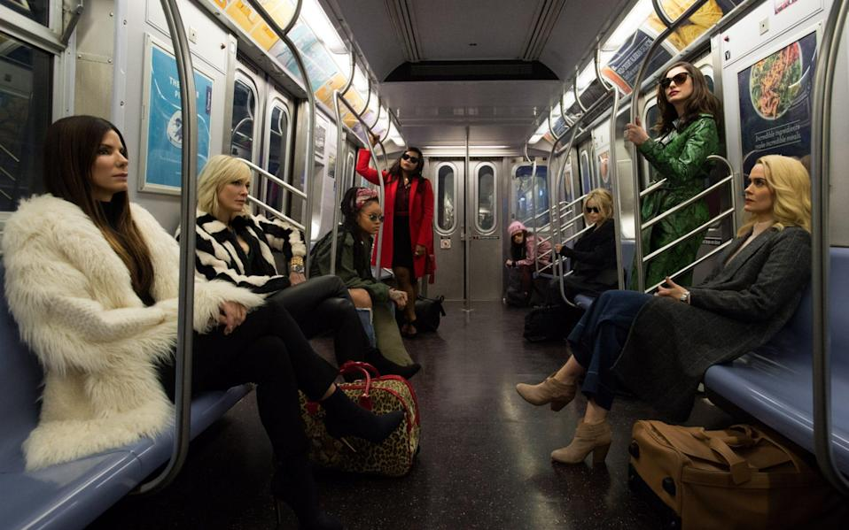 Ocean's 8 is a sequel to the George Clooney-led heist franchise