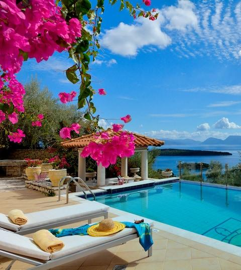 Villa Helonaki, Lefkas - Credit: GIC The Villa Collection