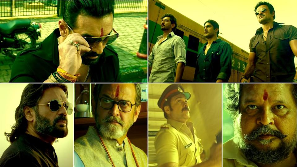 Mumbai Saga Teaser Review: The First Promo of Emraan Hashmi and John Abraham's Gangster Drama is All About Swag, Slo-Mo and Golden Tint (Watch Video)