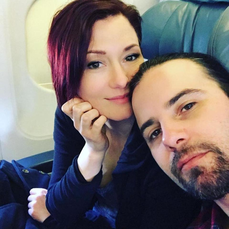 Chyler Leigh (L) and Nathan West | Nathan West/ Instagram