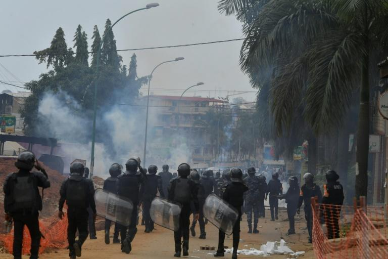 Opposition protesters see Ouattara's bid for a third term as unconstitutional