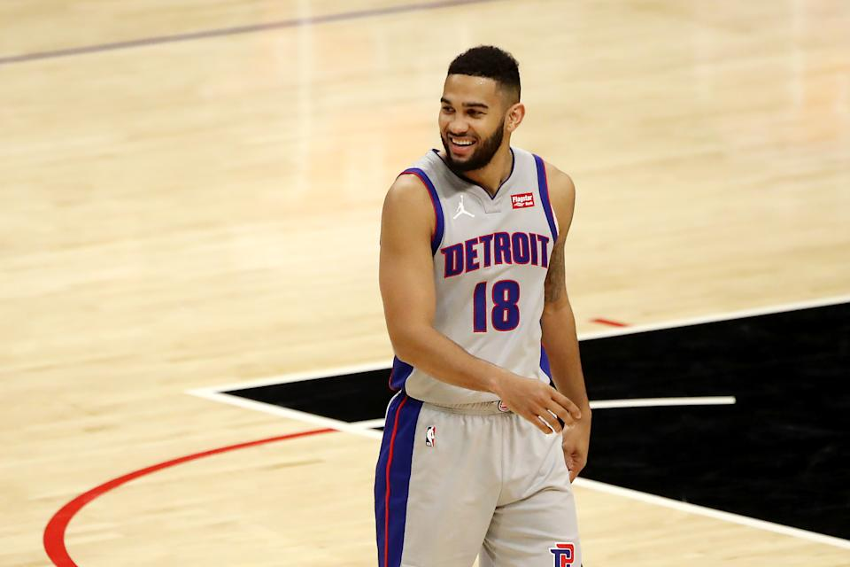 Cory Joseph will return to the Pistons on a two-year deal. (Katelyn Mulcahy/Getty Images)