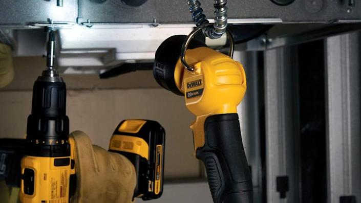 The brightness and design of this DeWalt flashlight wowed customers in need of a portable light source around the house.
