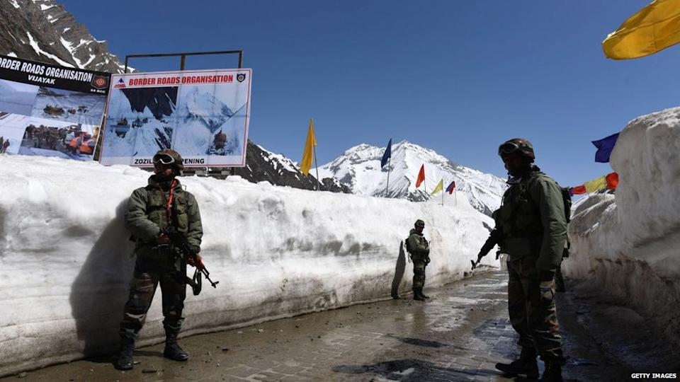 India has expedited the construction of roads along its border with China