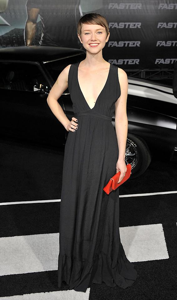 """Valerie Curry at the Los Angeles premiere of <a href=""""http://movies.yahoo.com/movie/1810147419/info"""">Faster</a> on November 22, 2010."""