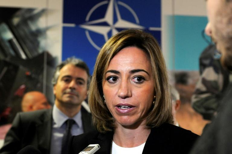 Carme Chacon was Spain's first female defence minister
