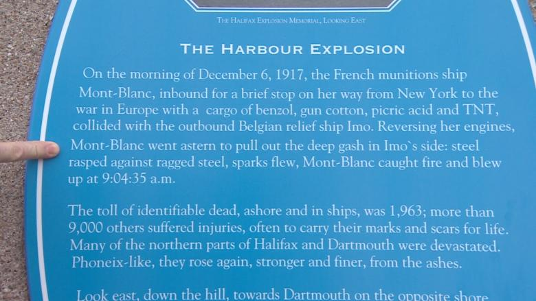 Another Halifax Explosion memorial engraved with errors