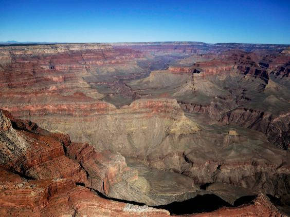 The Grand Canyon National Park as seen from a helicopter near Tusayan, Arizona (AP Photo/Julie Jacobson, File) (AP)