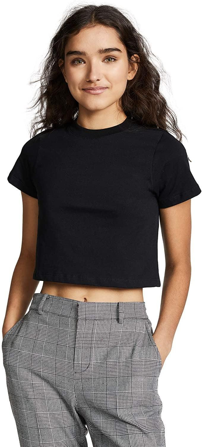 <p>Will a LBT - little black tee - replace a little black dress for you this year? If so, <span>Hanes x Karla Women's The Baby Tee</span> ($29-$34) is definitely a standout option.</p>