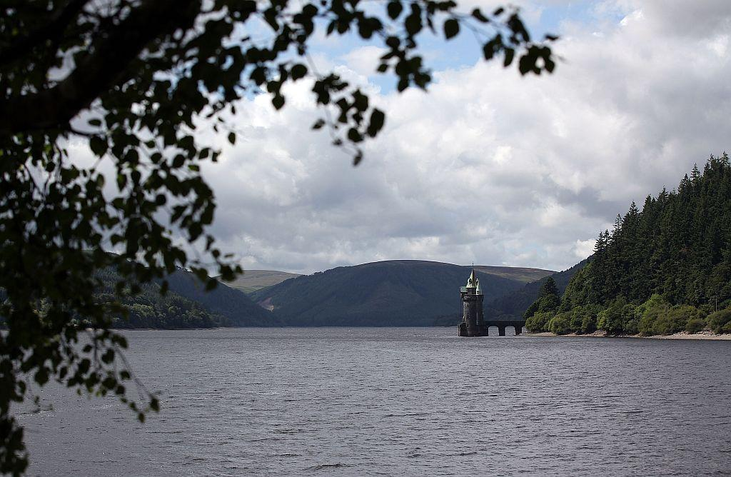 WALES:   A view of Lake Vyrnwy in Llanwddyn, Wales.