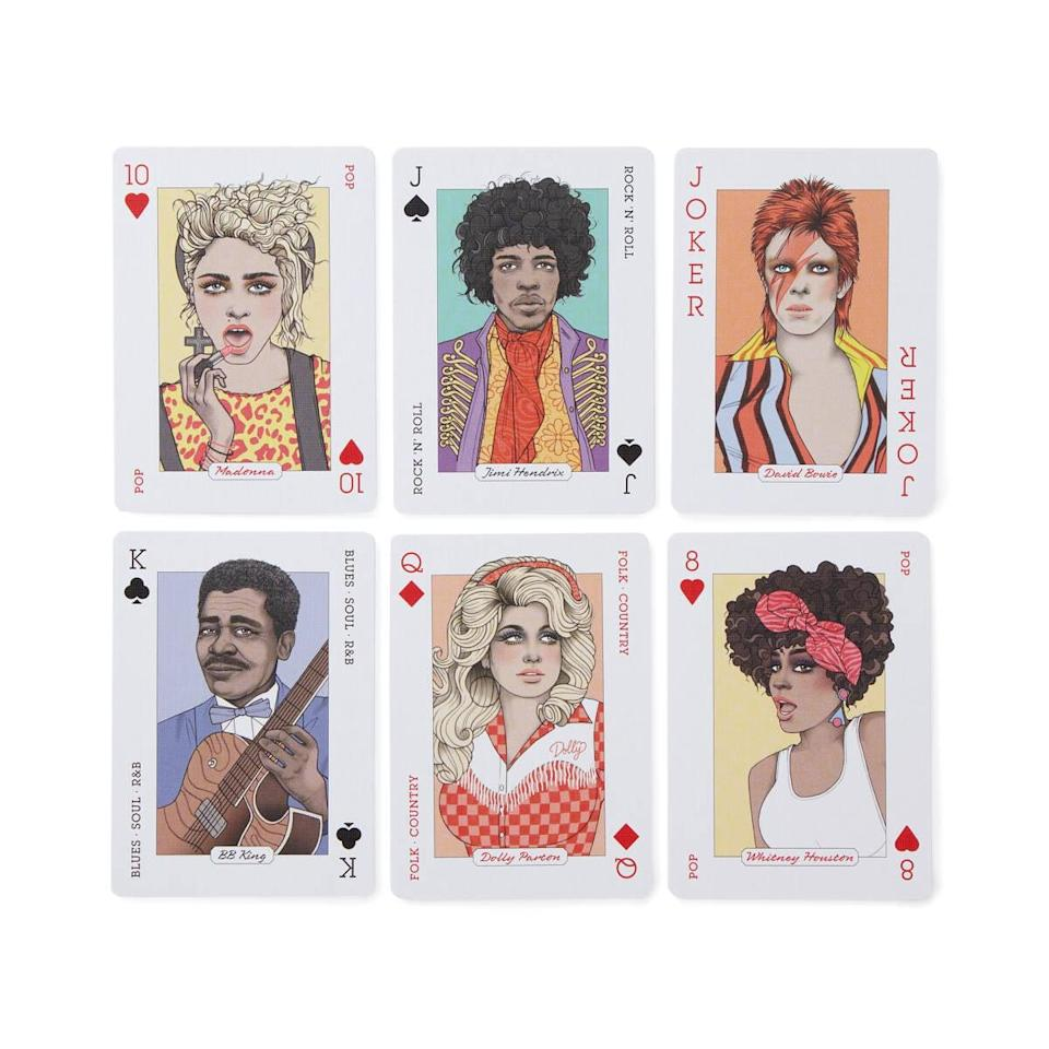 <p>These <span>Music Playing Cards</span> ($10) are a must have.</p>