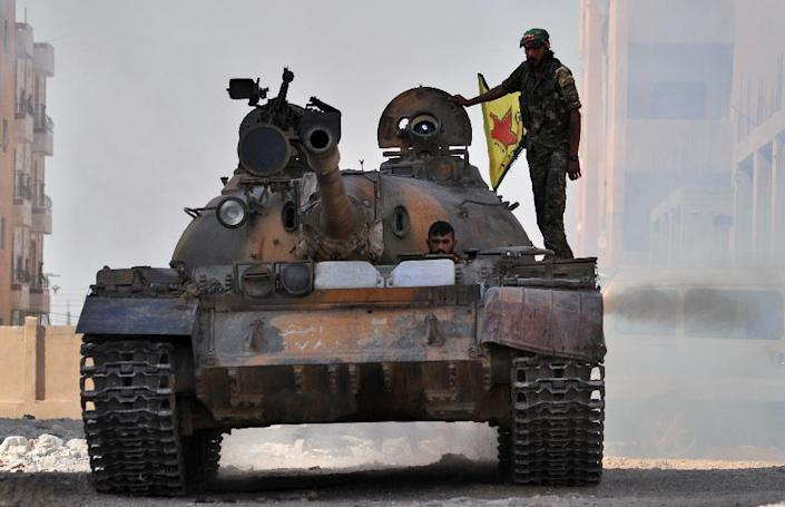 """The Kurdish People's Protection Units (YPG) said the Amnesty International report was """"arbitrary, biased and unprofessional"""" (AFP Photo/Delil Souleiman)"""