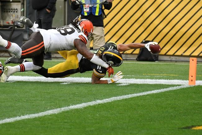 Steelers continue domination of Browns in Pittsburgh 38-7