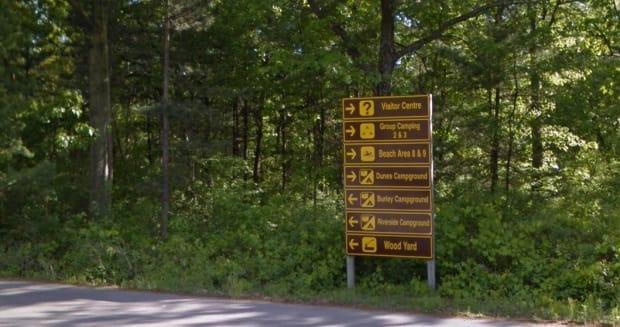 Ontario Parks says anyone booking reservations at a camp site will no longer be allowed to resell them for profit. Photo shows Pinery Provincial Park on the shores of Lake Huron.  (Google StreetView - image credit)