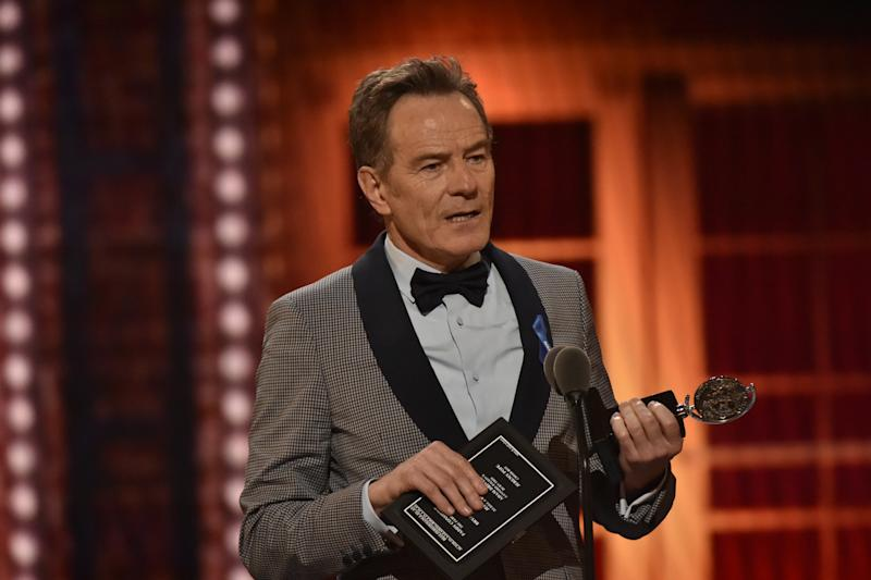 Bryan Cranston Donates Plasma After COVID-19 Infection